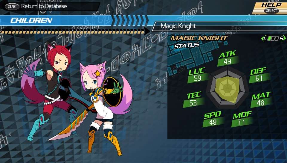 Conception II: Children of the Seven Stars - Magic Knight
