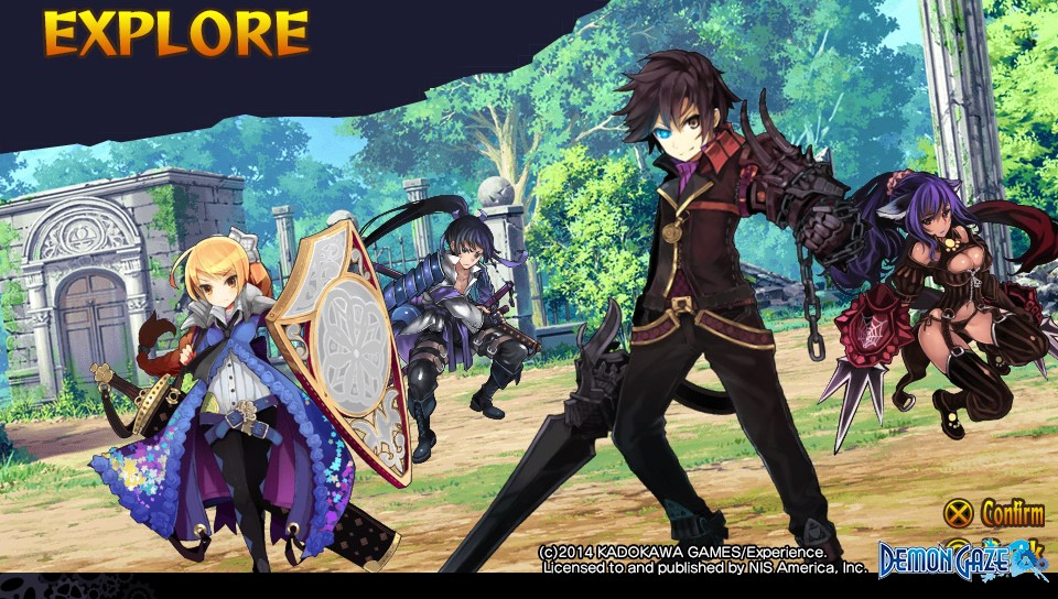 Demon Gaze Review - Oz