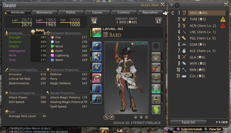 Final Fantasy XIV: A Realm Reborn - Armor Sets