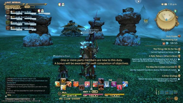 Final Fantasy XIV: A Realm Reborn - Garuda Fight