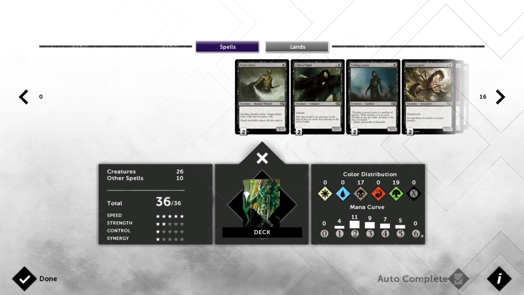 Magic 2015 - Deck Building