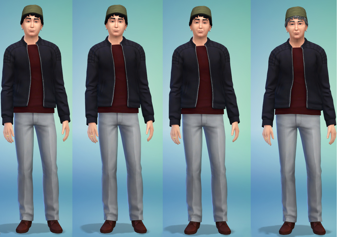 The sims 4 has an aging problem gamer horizon the sims 4 beardless aging maximus lambert ccuart Image collections