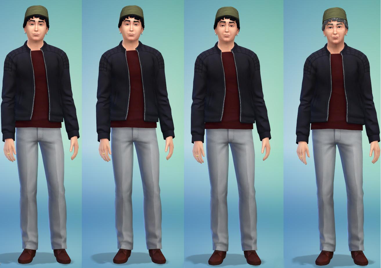 The sims 4 has an aging problem gamer horizon the sims 4 beardless aging maximus lambert ccuart Choice Image