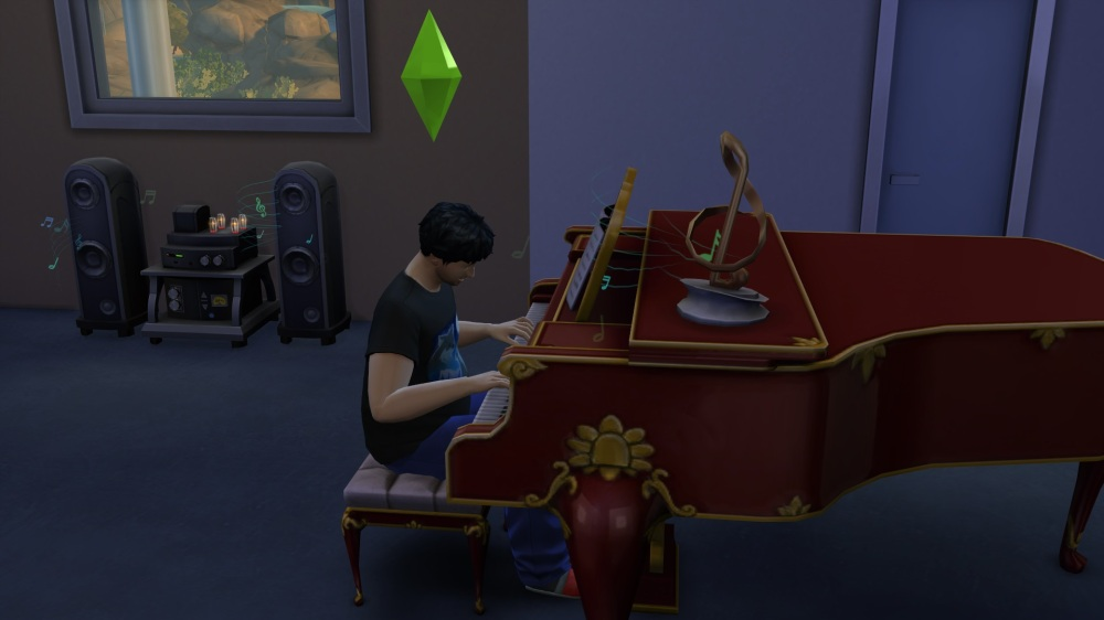 The Sims 4 - Playing Piano