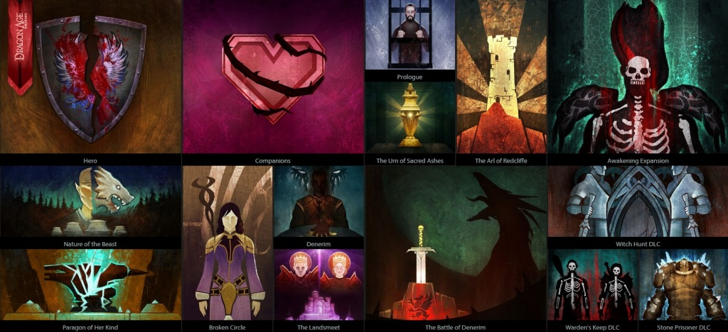 Dragon Age: Inquisition - Dragon Age Keep Tapestry