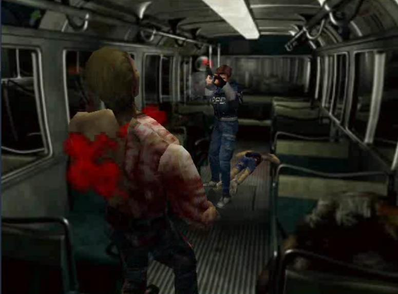 RE2 gameplay